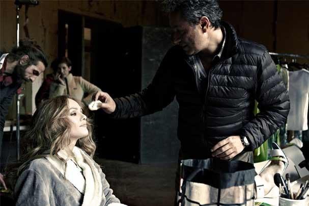 Making of da campanha estrelada pela atriz francesa (Foto: Reprodução)