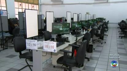 Central é montada para cadastramento biométrico de eleitores em Sorocaba