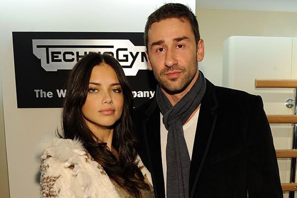 Adriana Lima e Marko Jaric (Foto: Getty Images)
