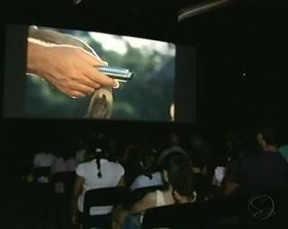 CineMúsica terá a exibição de mais de 100 filmes (Foto: Reprodução RJTV 1ª Edição)