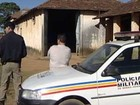Homens armados fazem refns e roubam fazenda em Arax, MG