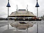 Grande Tenda do Cirque du Soleil comea a ser montada em Curitiba
