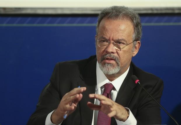 O ministro da Defesa Raul Jungmann (Foto: Antonio Cruz/Agência Brasil)