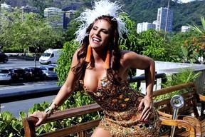 Rainhas do grupo de acesso - Jaqueline Maia de Santa Cruz  (Foto: Yuri Graneiro / Divulgação)