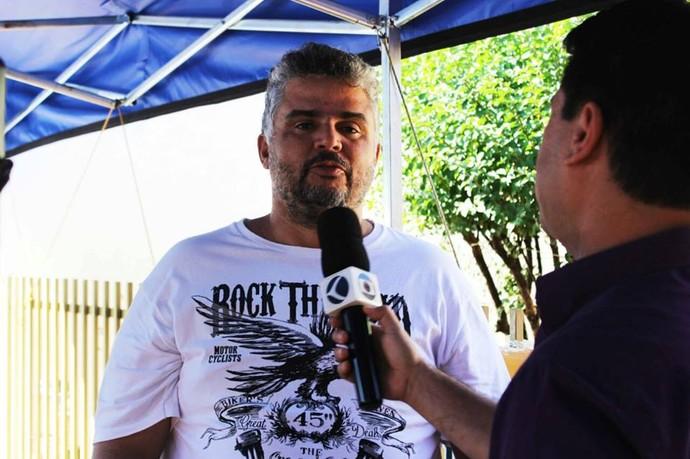 Marcelo Honorato sugeriu a rifa e participou de todo o processo (Foto: Divulgação Tô Indo)