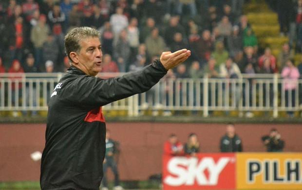 Ricardo Drubscky técnico Joinville (Foto: Leandro Ferreira / Ag. Estado)