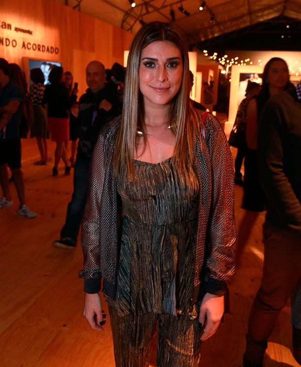 Fernanda Paes Leme no SPFW Vero 2016 (Foto: Ricardo Leal)