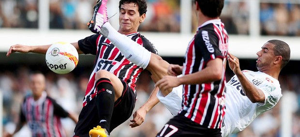 Ganso do S&#227;o Paulo no cl&#225;ssico contra o Santos (Foto: Marcos Ribolli / Globoesporte.com)
