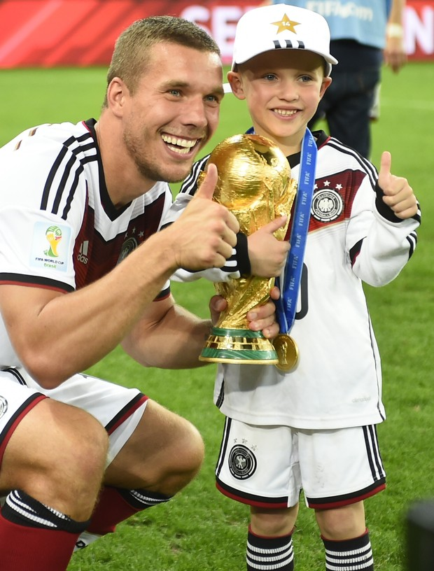 Lukas Podolski Louis Gabriel Podolski