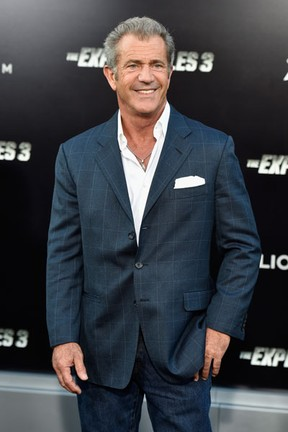 Mel Gibson em première em Los Angeles, nos Estados Unidos (Foto: Frazer Harrison/ Getty Images/ AFP)