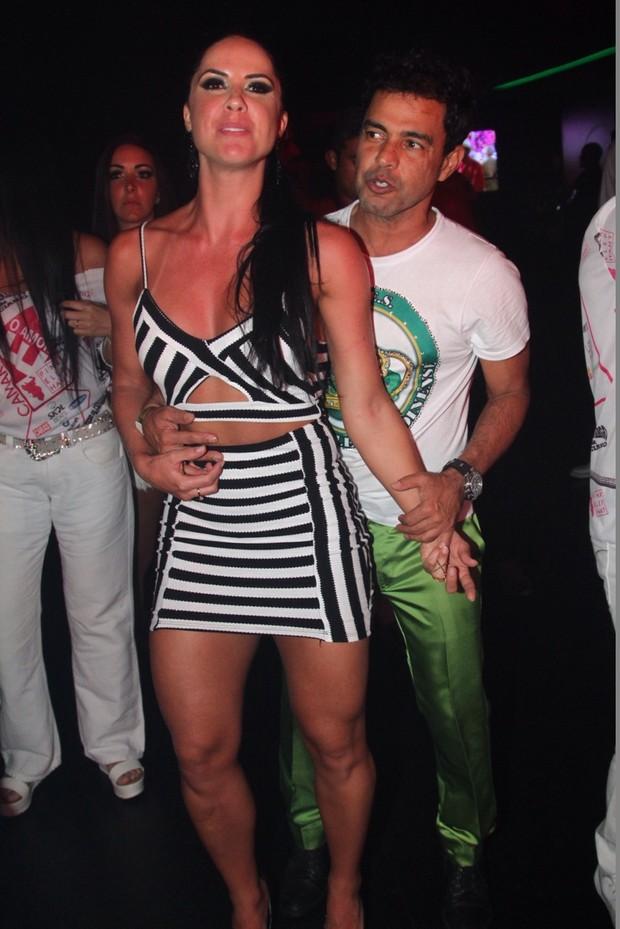 Zezé Di Camargo e Graciele Lacerda (Foto: Anderson Borde/ Ag. News)
