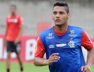 Wellington Bruno treino Flamengo (Foto: Alexandre Vidal / Fla imagem)