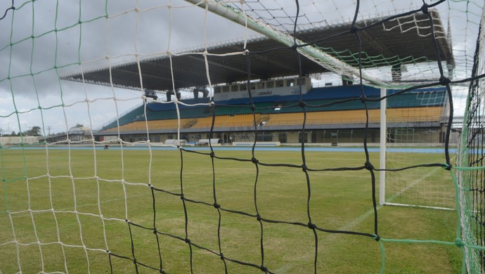 Estádio Olímpico Zerão; Futebol; Amapá (Foto: Lorena Kubota/GE-AP)