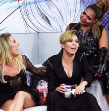 Veja os bastidores da Sala de Bate-Papo (The Voice Brasil/TV Globo)