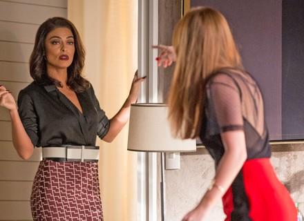 Eliza enfrenta Carol após ser deixada por Arthur
