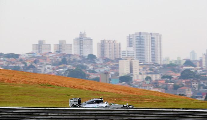Nico Rosberg, Treino Livre GP do Brasil (Foto: Getty Images)