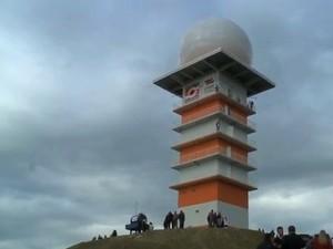 Radar de Lontras está quebrado desde o início do ano (Foto: Reprodução/RBS TV)