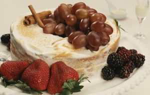Bolo de reis com frutas secas e especiarias