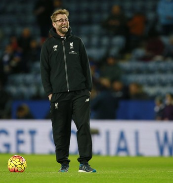 Jurgen Klopp, Leicester x Liverpool (Foto: Reuters)