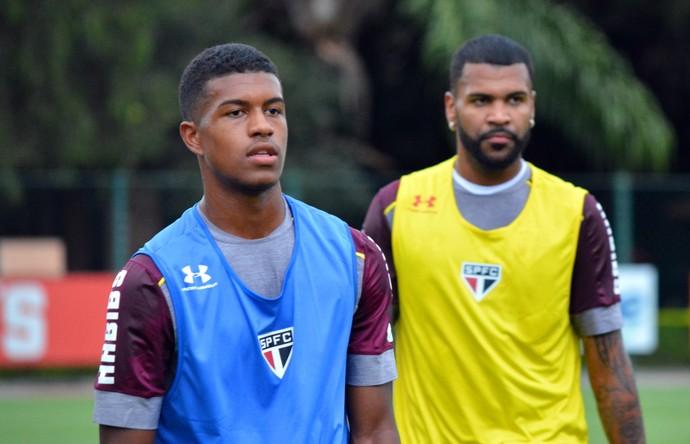 Léo Natel Breno São paulo (Foto: Erico Leonan / site oficial do SPFC)