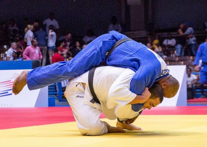 David Moura Grand Slam Baku judô (Foto: Divulgação)