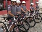 Policiais de Mogi começam patrulhamento com bicicletas