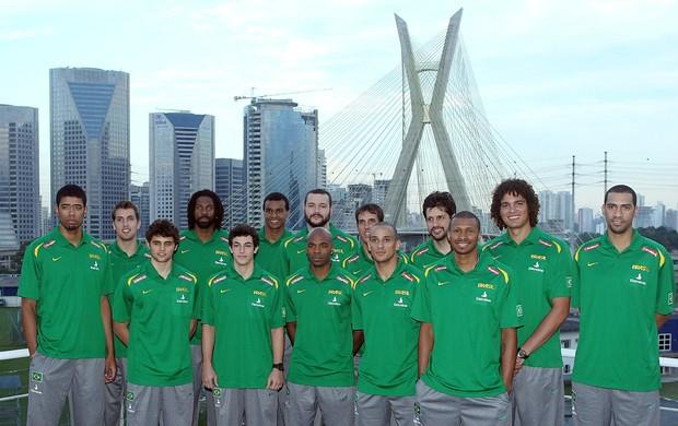 basquete apresentação seleção brasileira (Foto: Wander Roberto/Inovafoto)