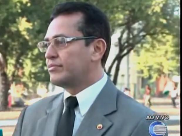 Procurador de Justiça do Piauí, Cleandro Moura (Foto: Reprodução/TV Clube)