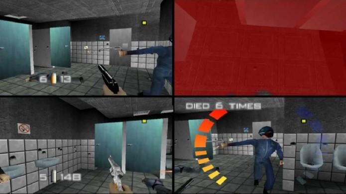 GoldenEye 007 foi uma das grandes surpresas do Nintendo 64 com seu multiplayer emocionante e divertido (Foto: Reprodução/YouTube)