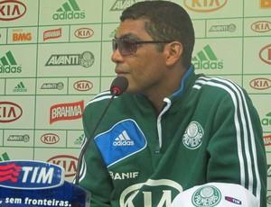 Narciso, treino Palmeiras (Foto: Diego Ribeiro / Globoesporte.com)