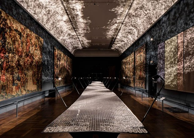 London Design Festival: Benjamin Hubert no Victoria & Albert Museum (Foto: Reprodução/Instagram)