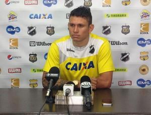 Rafael Oliveira - atacante do ABC  (Foto: Carlos Cruz/GloboEsporte.com)
