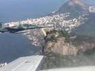 Rio 2016: G1 acompanha simulação de interceptação da Aeronáutica