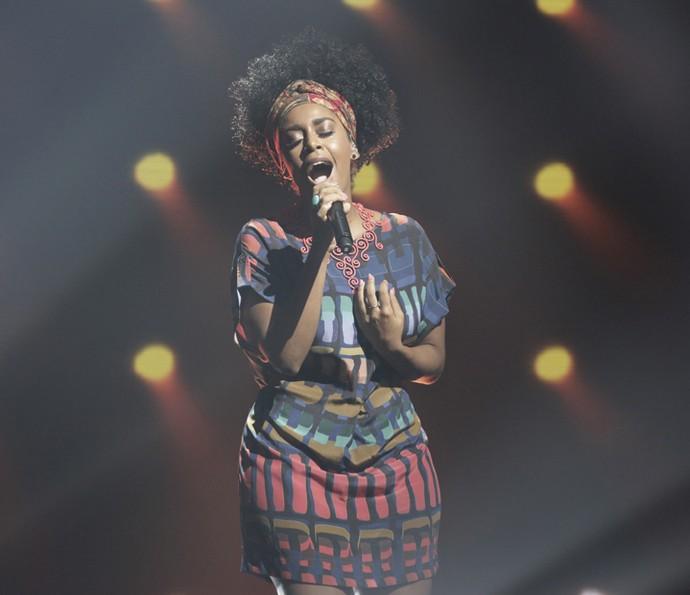 Aline é vencedora do primeiro domingo do 'Iluminados' (Foto: Fábio Rocha / Gshow)