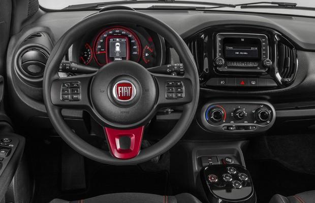 Fiat Uno Sporting 2015 (Foto: Divulgação)