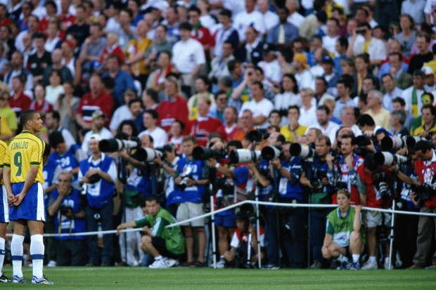 Apesar da boa campanha, episódio marcou a Copa de 1998 (Foto: Ben Radford/Getty Images)