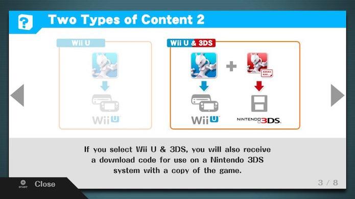 Você pode adquirir o mesmo DLC para ambas plataformas (Wii U e 3DS) (Foto: Reprodução/Victor Teixeira)