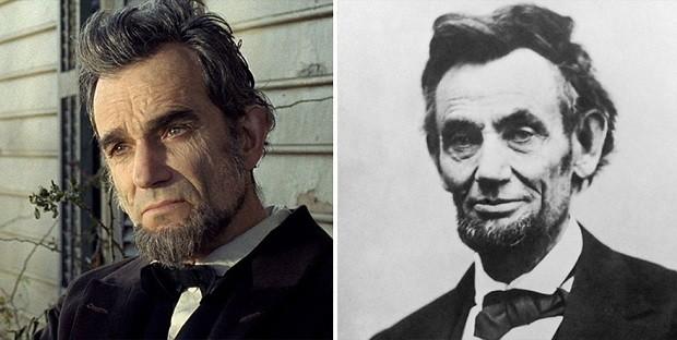 Daniel Day-Lewis e Abraham Lincoln (Foto: Divulgação)