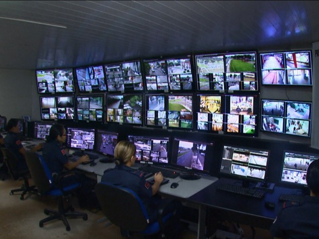 Uma das propostas do grupo é melhorar o monitoramento por câmeras da Guarda Municipal (Foto: Reprodução/RPC)