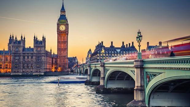 Londres no Reino Unido (Foto: Shutterstock)