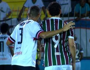Fluminense x Santa Cruz (Foto: Reprodução)