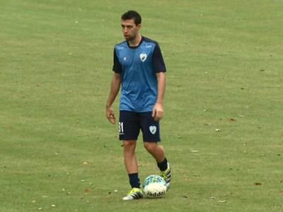 Fillipe Soutto treino Londrina (Foto: Reprodução/RPC)