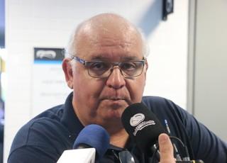 Romildo Bolzan Júnior Grêmio (Foto: Eduardo Moura/GloboEsporte.com)