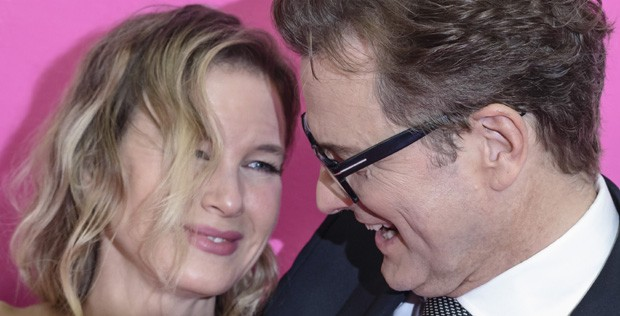 Renée Zellweger e Colin Firth (Foto: Getty Images)