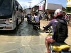 Casas e comércio de Bebedouro ficam tomados por lama após cheia