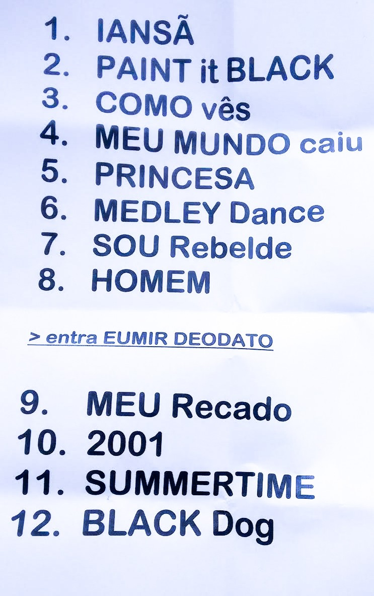Setlist Cam Rock in Rio 2015 (Foto: Multishow)