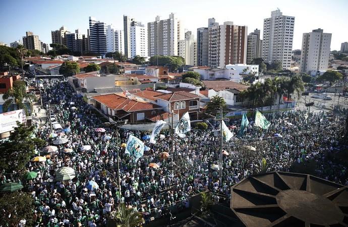 Torcida Guarani, Brinco de Ouro, final Série C, Guarani x Boa Esporte (Foto: Ari Ferreira/ GloboEsporte.com)
