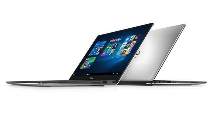 As duas versões do XPS 13 têm corpo em alumínio e pesam pouco mais de 1 kg (Foto: Divulgação/Dell)