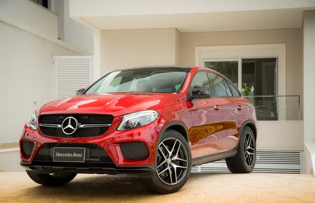 Mercedes-Benz GLE Coupé (Foto: Divulgação)