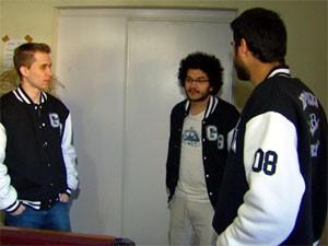 Repúblicas estudantis são frequentes alvos de furtos (Foto: Márcio de Campos/ EPTV)